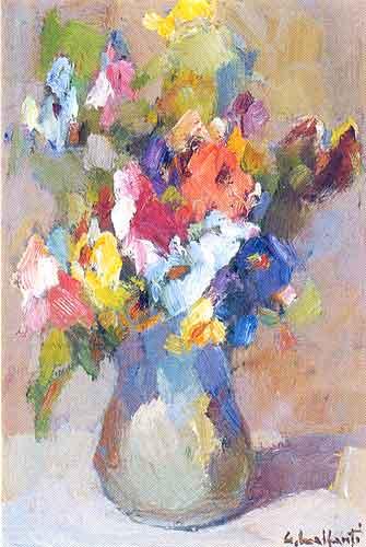 Vaso di fiori for Immagini di quadri con fiori
